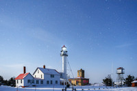 Moonlight at Whitefish Point
