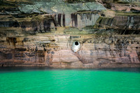 Pirate in the Rocks, Pictured Rocks National Lakeshore