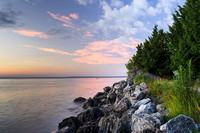 Mackincac Island Bike Trail Sunrise