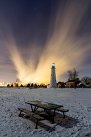 Icy Picnic at Fort Gratiot