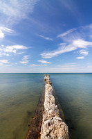 Post at Whitefish Point