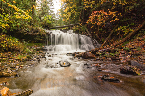 Autumn at Wagner Falls