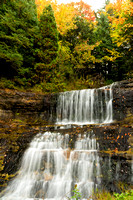 Autumn at Alger Falls